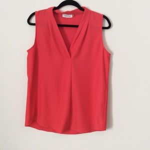 Calvin Klein Sleeveless Dress Top